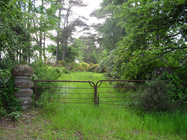 The old entrance to the Skibo estate