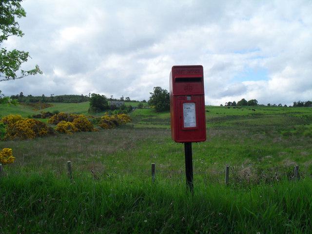 Post Box at Acharry