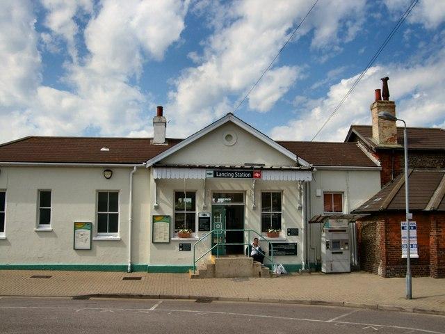 Lancing Station Entrance
