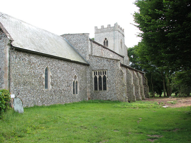 St Michael's church in Didlington