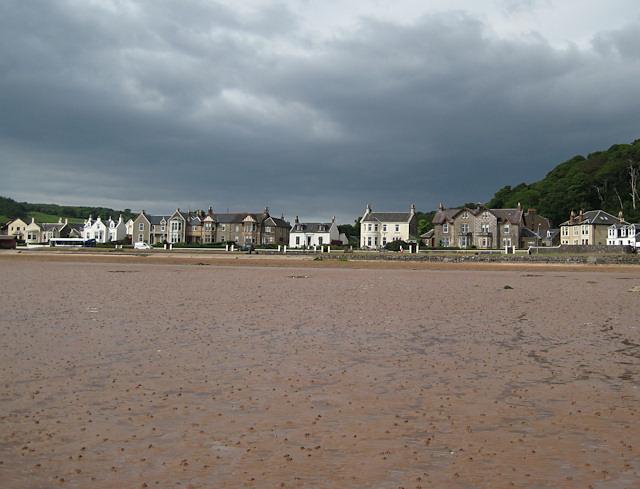 Kames Bay at low tide