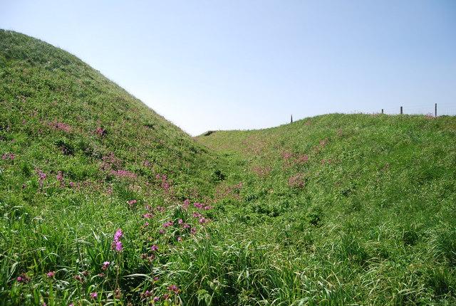 Danes Dyke: Dyke End