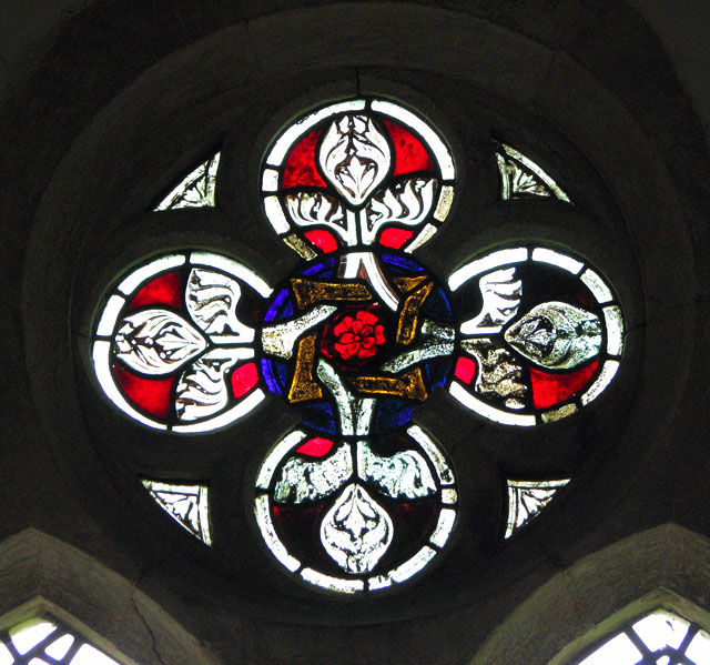 St Michael's church in Didlington - stained glass