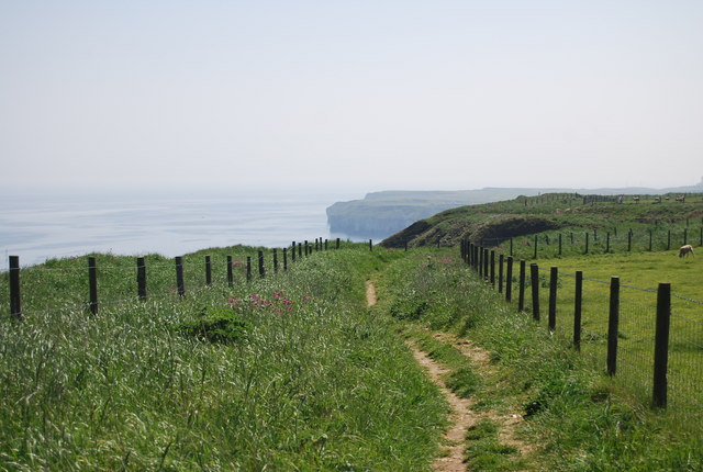 Headland Way east of Dyke End