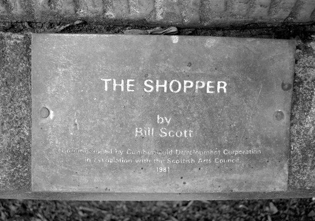 The Shopper (plaque)