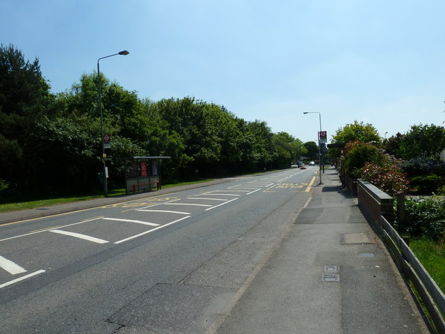 Bus shelter in Blackbrook Lane