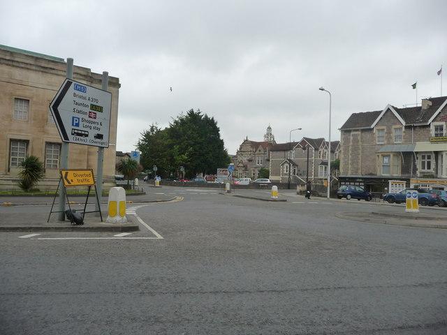 Weston-Super-Mare : Walliscole Road Roundabout