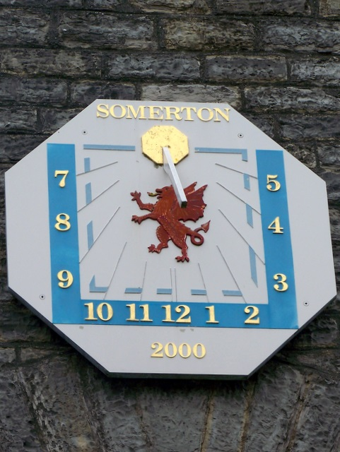Sundial, Somerton
