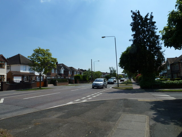 Junction of Blackbrook Lane and Homemead Road