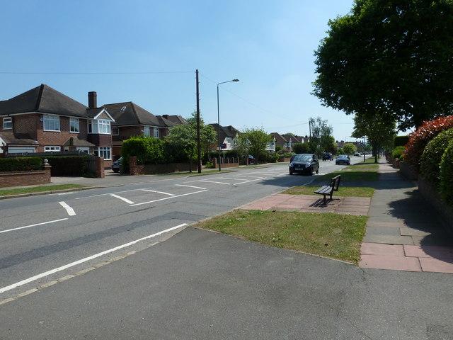 Seat in Blackbrook Lane