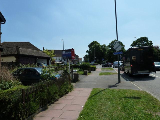 Signs in Blackbrook Lane