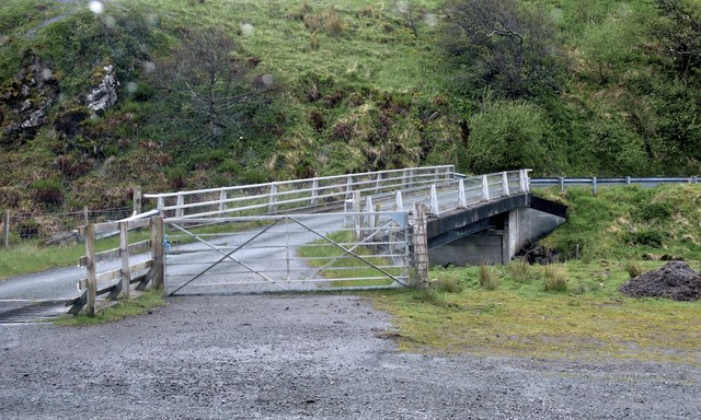 Bridge over the Stenscholl River, Staffin, Skye