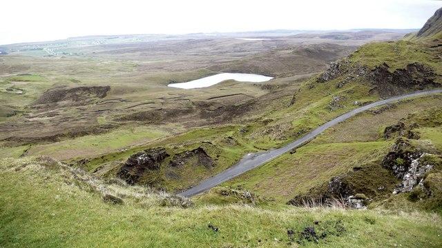 Loch Leum na Luirginn from the Staffin ~ Uig road