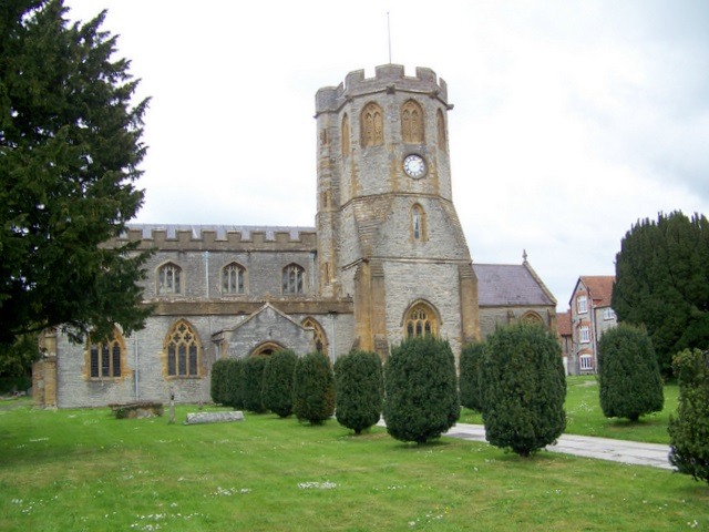Church of St Michael and All Angels, Somerton