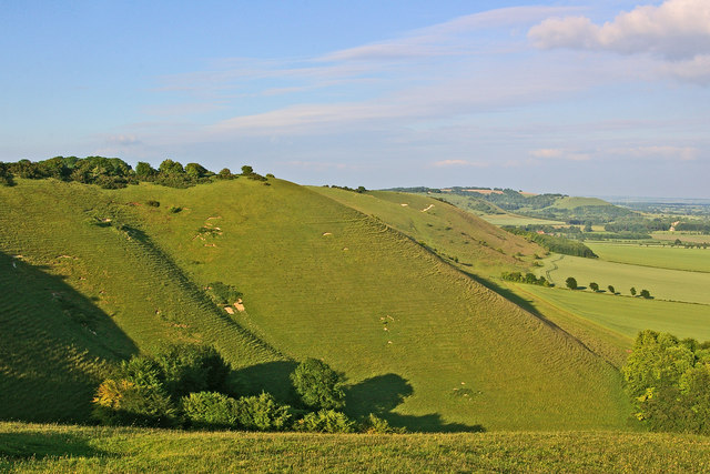 Pewsey Downs escarpment