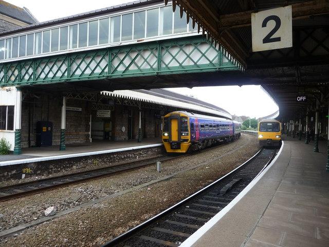 Weston-Super-Mare: Weston-super-Mare Railway Station