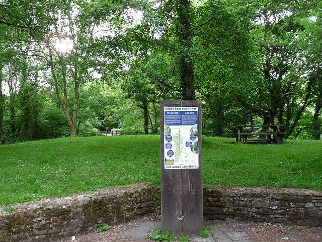 Information Board, Sirhowy Valley Country Park