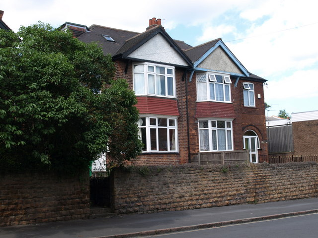 Houses on Park Road, Lenton