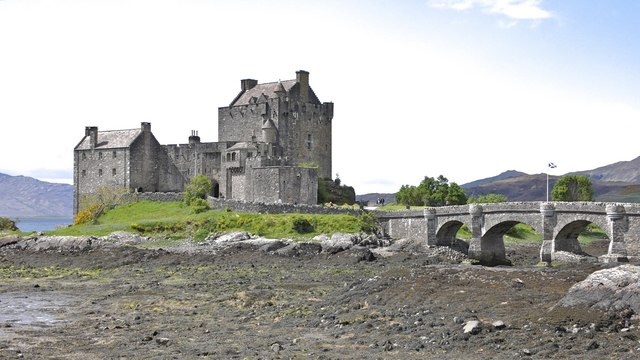 Eilean Donan - centuries old base of the MacRae clan