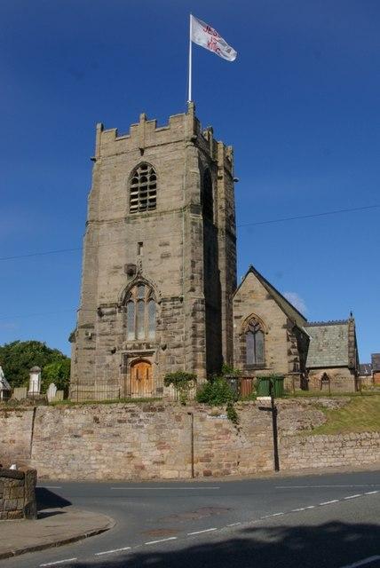 St Oswald's Church, Bidston