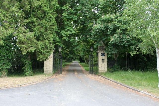 The manor gates