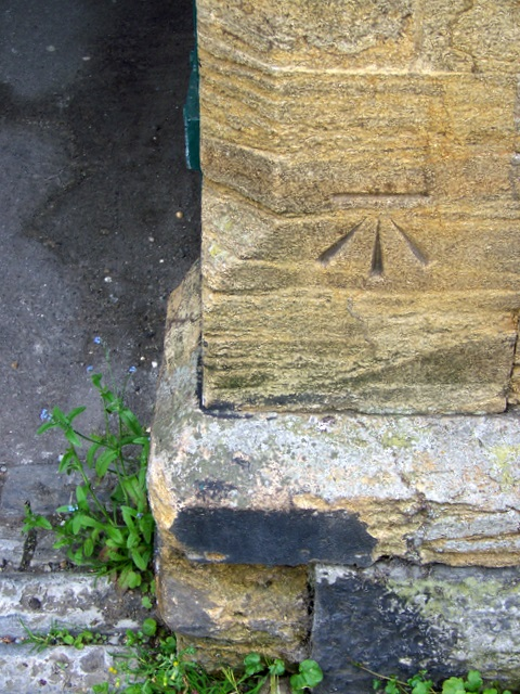 Bench Mark, Market Place, Somerton
