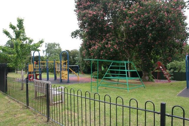 Playground on the corner