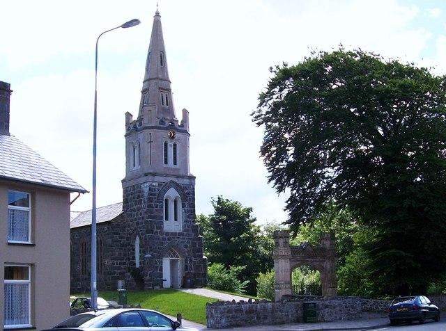Eglwys y Santes Fair/ St Mary's Church, Tremadog