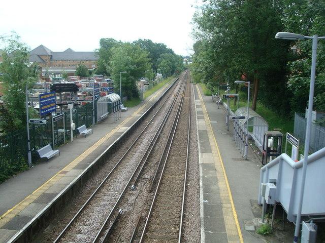Maidstone Barracks railway station