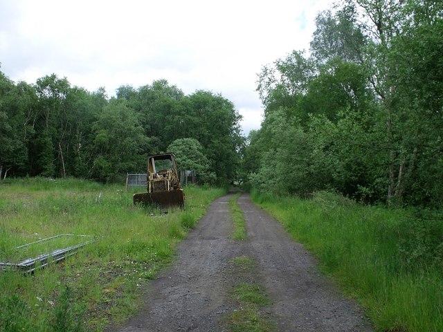 Track to Heathfield
