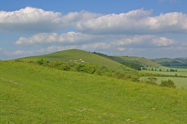 Towards Knap Hill