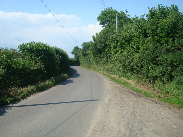 Bower Lane, near Eynsford