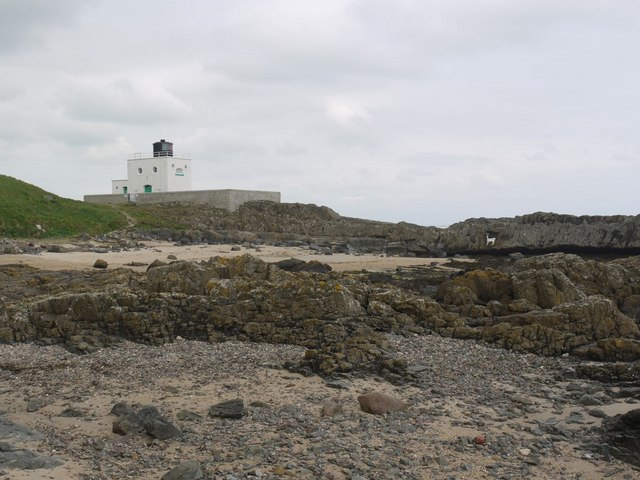 Blackrocks Point Lighthouse, Bamburgh