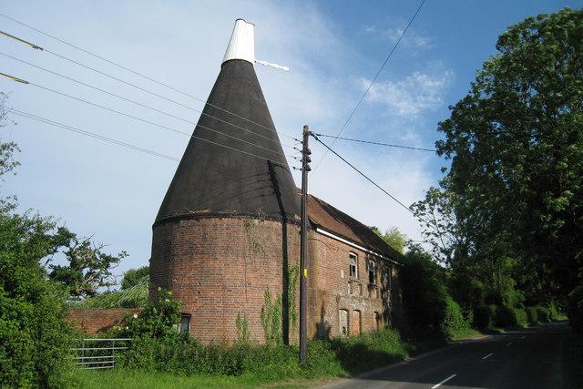Oast House at Hobby Hobbs Farm, Staplecross, East Sussex
