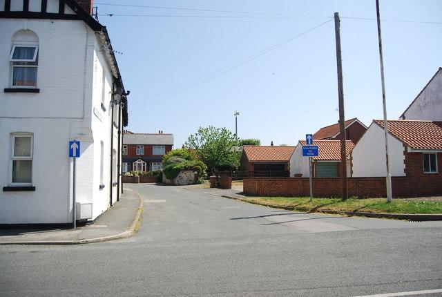 One way road, Flamborough