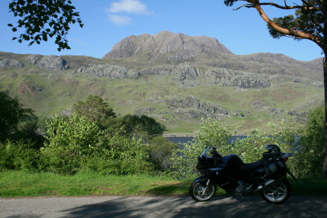 Having a breather by Loch Maree