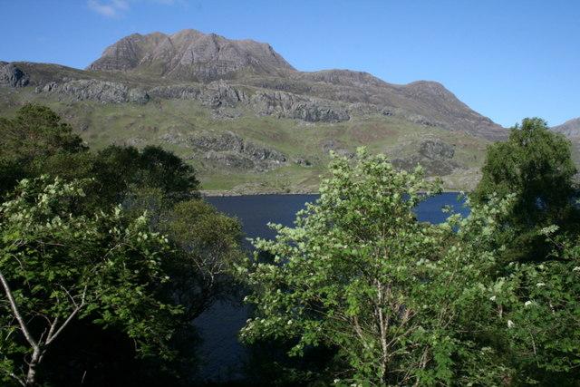 A view across Loch Maree