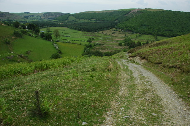 Track above Cilrhye
