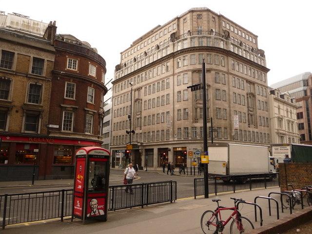 London: Minories meets Aldgate High Street