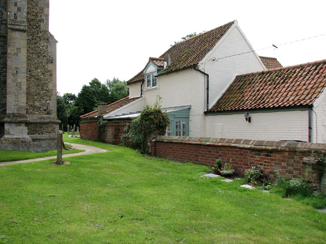 Cottage adjoining St Andrew's church