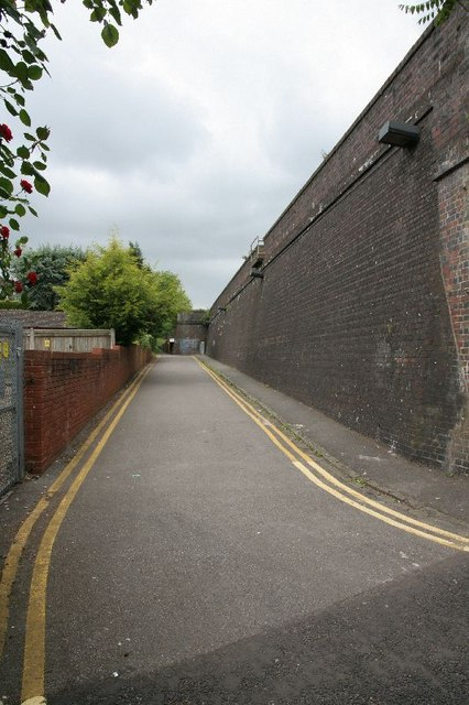 Road by the embankment