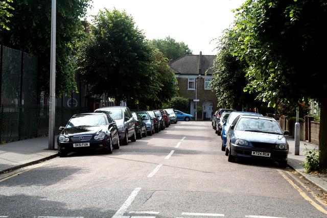 Croydon:  Brampton Road