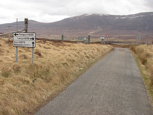 A simple crossroads, Altnaharra
