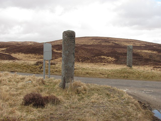 Stone gateposts, Altnaharra