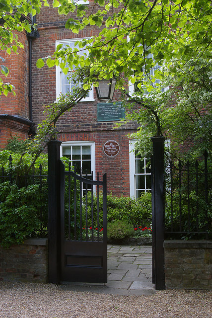 House with literary associations, Highgate Village, North London