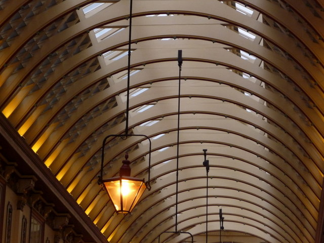 London: Leadenhall Market roof
