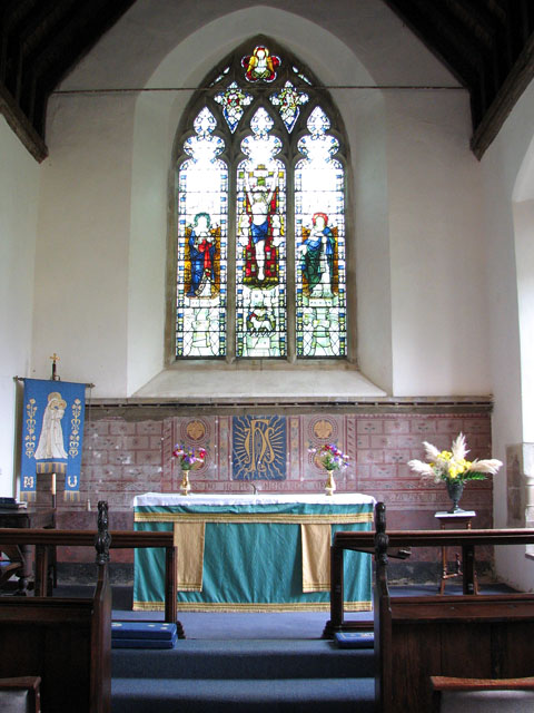 St Andrew's church in Holme Hale - the chancel