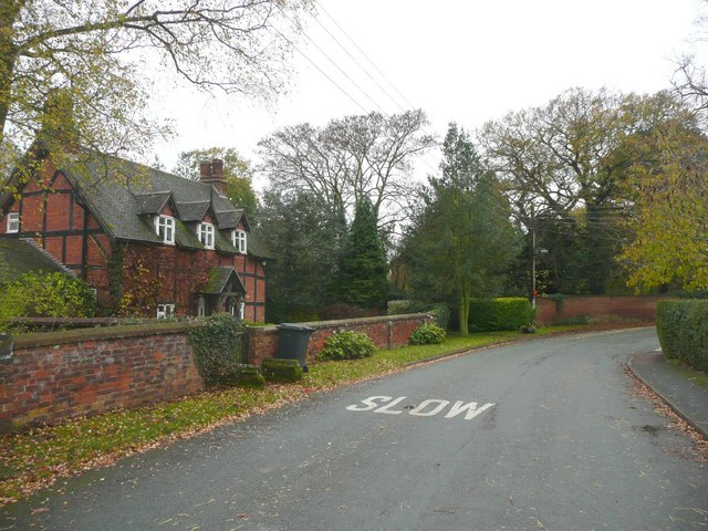 The village street, Elford