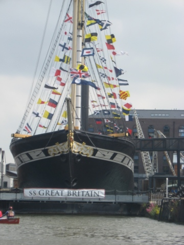 SS Great Britain from the Floating Harbour