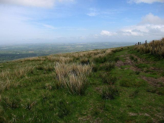 Bridleway along the Preseli ridge